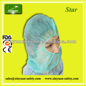 SPP Nonwoven disposable hood