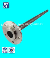 High precision rear axle shaft