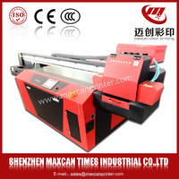 UV printer Directly print crystal,wood,bamboo,metal stone,leather Maxcan F1500-G5 digital printing machine
