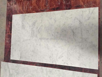 Chinese Polished Carrara White Marble On Selling