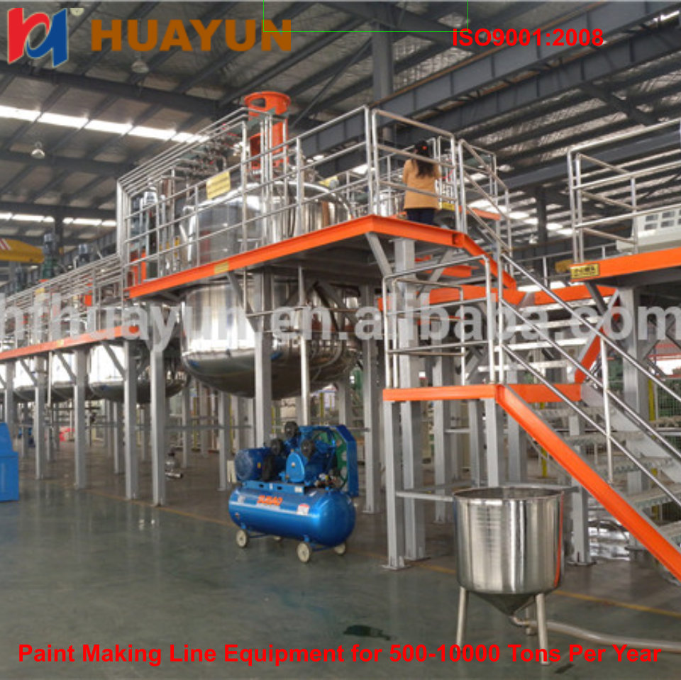 high speed industrial paint mixing machine Chemical Manufacturing Machine Wall Paint Production Equipment
