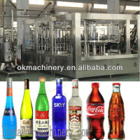 Alcohol bottling plant