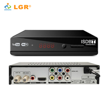 LGR Brazil Standard FTA HD ISDB-T /ISDBT Set Top Box Digital Receiver with WiFi and YouTube
