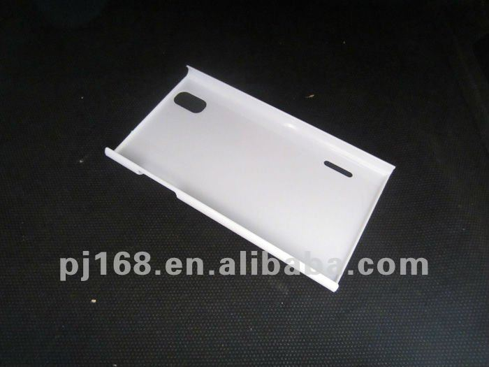 Clear plastic cell phone case cover for LG P940 (In stock)
