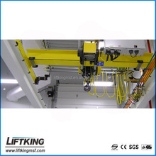 LIFTKING overhead traveling top running single girder bridge crane