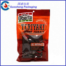 Dried beef package bags/plastic bag for beef jerky