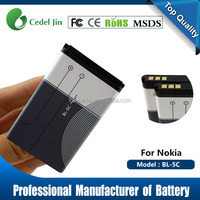 import mobile phone accessory battery BL-4C for nokia 6100/6101/6102/6103/6125/6131/6136/6170/6260/6300/6301/6316S/7200/7270