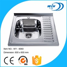 Easy cleaning direct sell silver teka kitchen sinks stainless