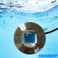 New design 54W IP68 wide angle LED marine dock light