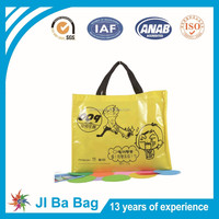 New laminated advertisement non woven bag with full color pictures