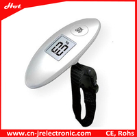 UFO-like mini electronic gadget portable digital Luggage Scale for souvenir and christmas gift