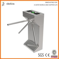 low cost high quality electric automatic access control tripod turnstile