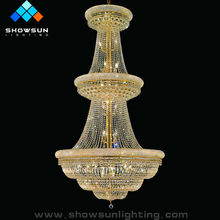 Large Crystal Chandeliers for hotel