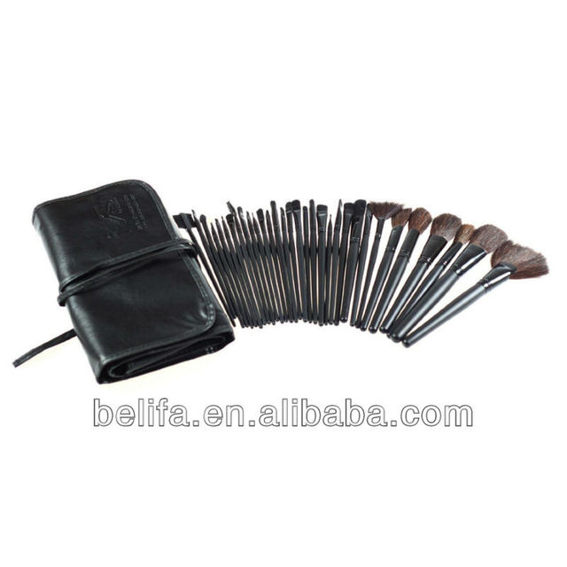 New 32PCS Professional Cosmetic Makeup Brush Set Kit Black - Meets All Your Needs