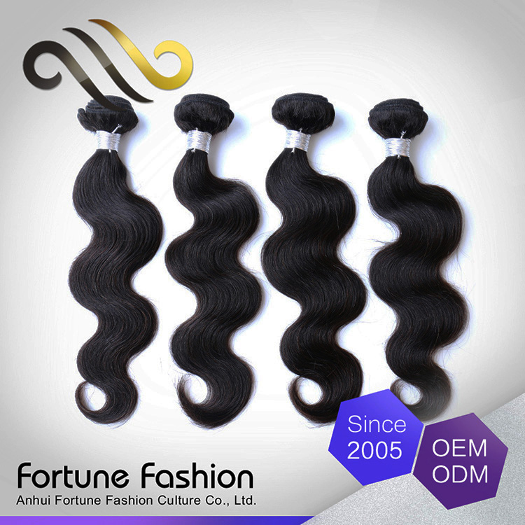 Wholesale full thick machine wefts virgin remy hair extension 4 bundles express hair bulk
