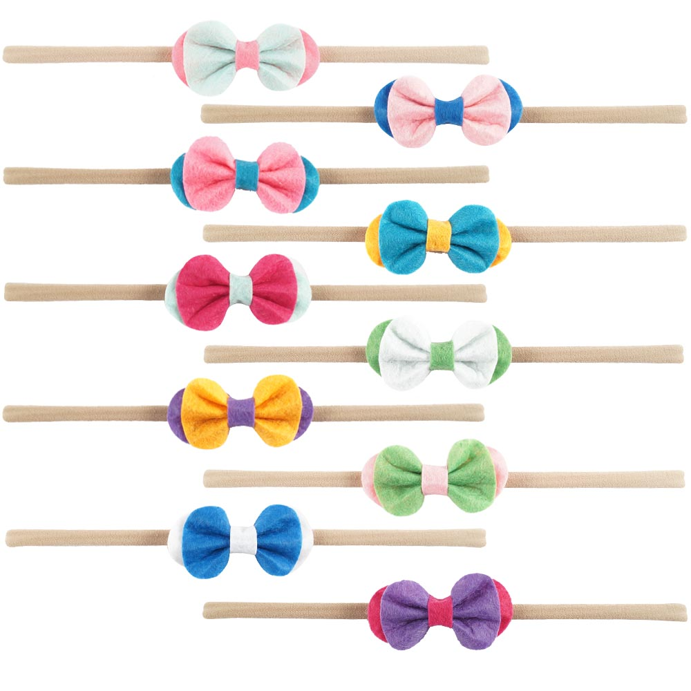 Baby girl bows and headbands back to school hair bows HD-1612243