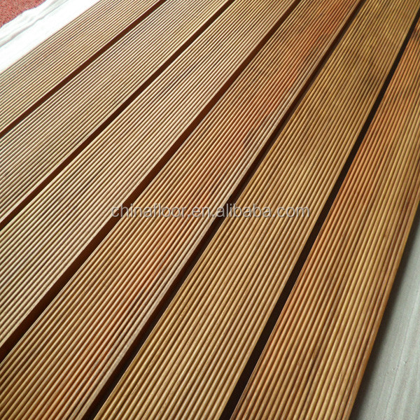 Cumaru(brazilian teak) hardwood decking for outdoor use