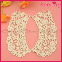 cheap wholesale women water soluble cotton embroidered lace collar WLS-585