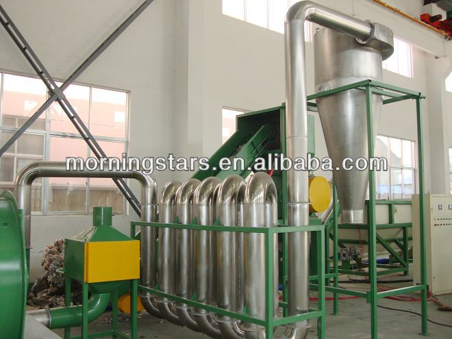 waste garbage recycling line