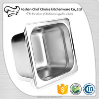 1/9*100mm Stainless Steel Food Pan Gn Pan Hotel Ice Cream Container Sales Factory Price