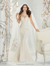 white lace sleeveless A-line sweetheart casual beach wedding dresses 2013