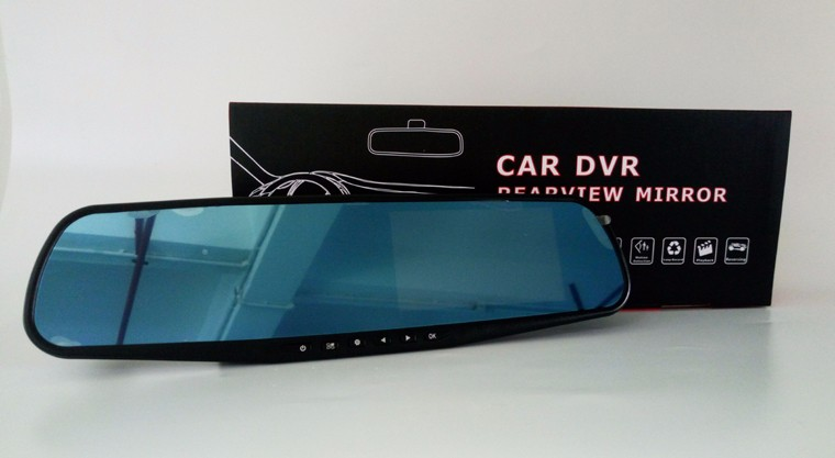 Manual HD1080P DVR Car Video Record Vehicle car rear mirror with Camera