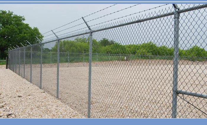 Renewable Sources pvc coated sport field chain link fence