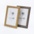 Manufacture 5x7/6x8''classical gold desktop layout vintage picture frames/wall photo frames
