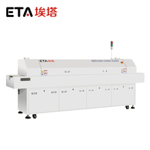 New leadfree reflow oven A800 smt desktop reflow oven small wave soldering machine IR and hot air oven