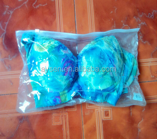 custom printed swimwear bag frosted eva,swimwear package