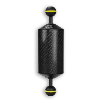 "Meikon daul ball Carbon Fiber diameter 60mm  8"" Buoyancy Floating ball arm for Diving equipment  Buoyancy arm"