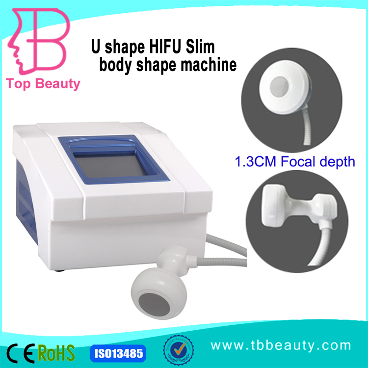 Factory vertical supplier Portable HIFU Body Slimming Machine For Body Shaping