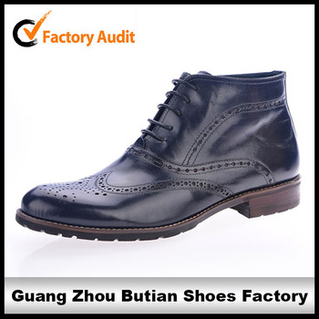 fashion men leather boots italian leather boots