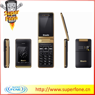 New 2014 !!! GW888 1.77inch imitation mobile phone unlock flip phones mini phones