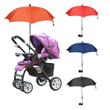 Colorful Kids Bicycle Chair Bar Holder stand Stroller Bike Umbrella
