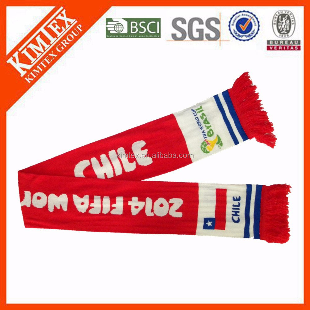 2016 Custom Promotional Football Scarf