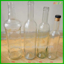 750ml wholesale glass liquor bottles bottle of red wine