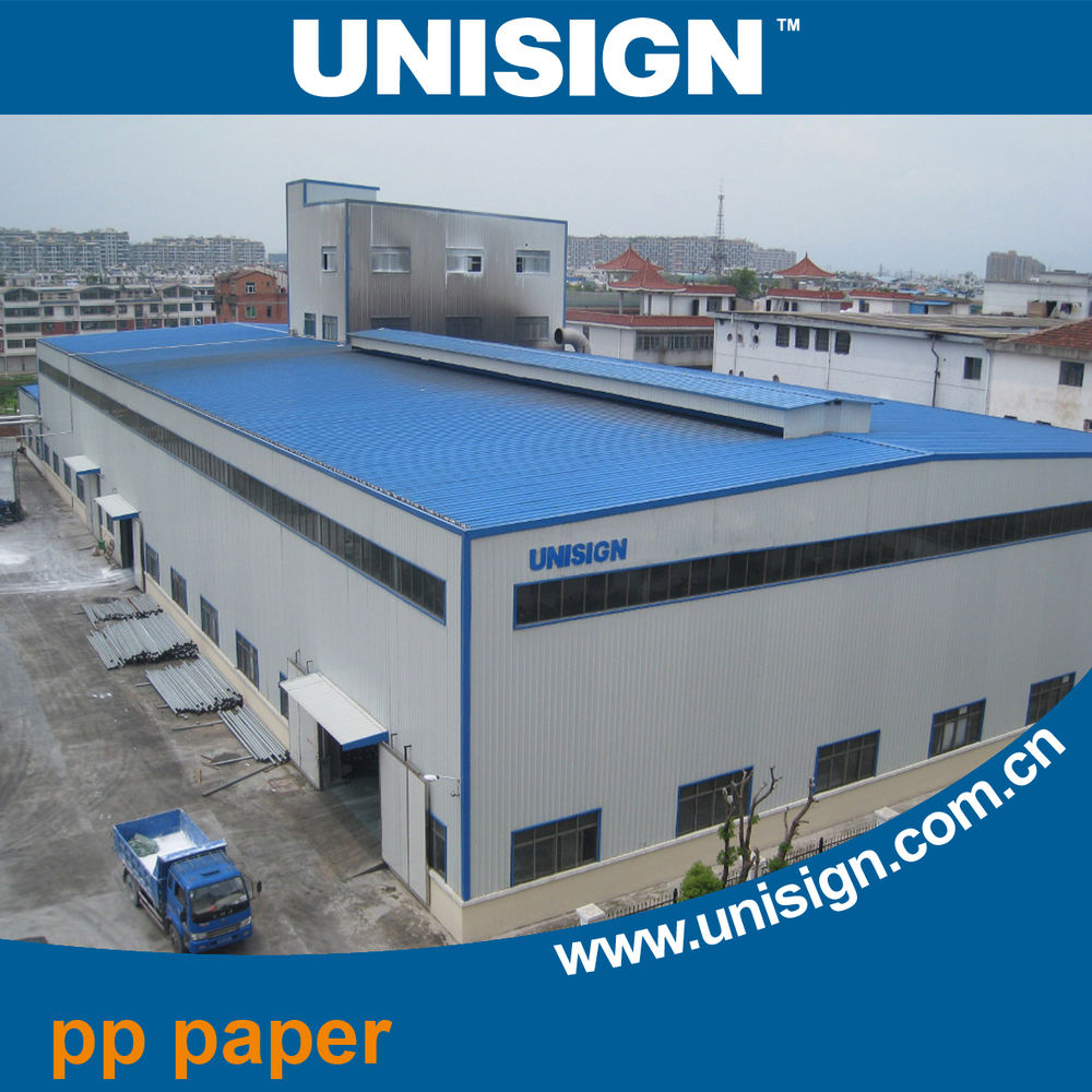 Eco Solvent Matte Glossy Waterproof Pp Synthetic Paper