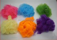 0.9D~20D pla fiber for nonwove and yarn, spinning grade pla fiber