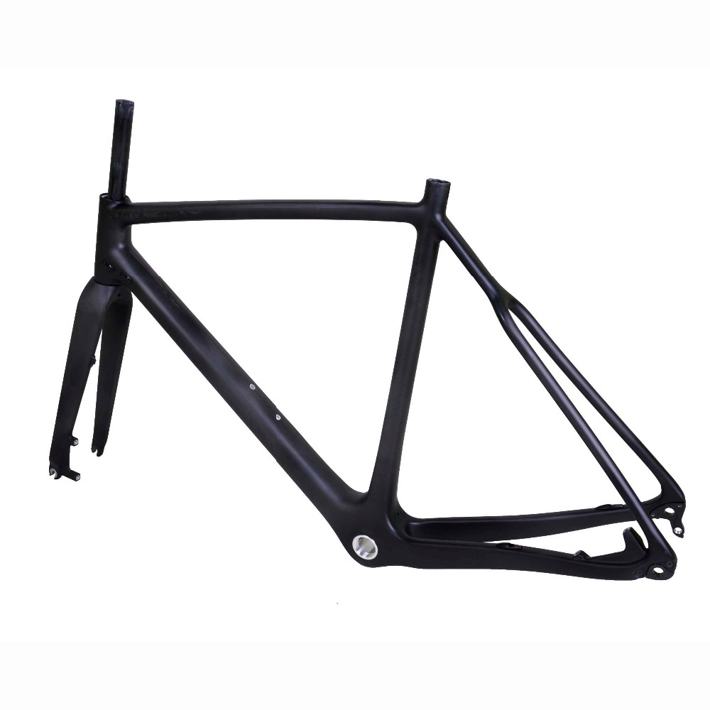 Dengfu New arrival carbon cyclocross frame FM286 flat mount bike