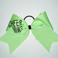 New Design Cheer Bows Letter Hair Bows For Cheerleading Team