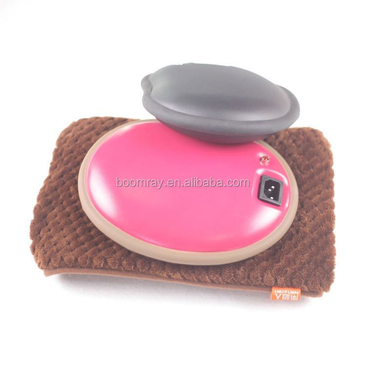 No Battery No Liquid Rechargable health care Best Girlfriend Gift heating pad / gel hand warmer