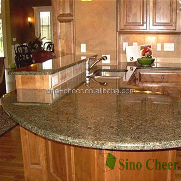 Best Price Countertops : Best Price Glossy Brown Granite Kitchen Island Countertop - Buy Best ...
