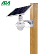 New Design Integrated LED Solar energy Torch Light
