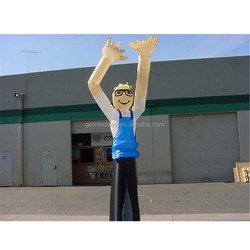 Outdoor cooking contest decoration wearing apron house-husband air dancer wacky waving inflatable