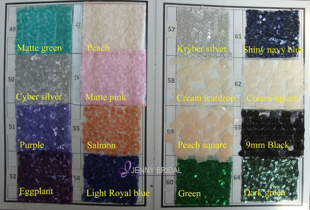 C385 wholesale cheap multicoloured sequin chair cover chair sashes for wedding