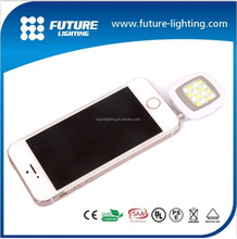 emergency lighting Mini square environmental rechargeable battery Iblazr selfie LED flashlights