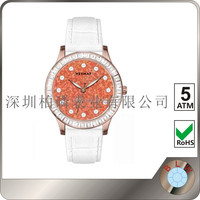 New arrival china wholesale slim stone face low cost wrist watch