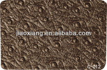 C012 Ostrich Natural Rubber Sheet for Shoes Repair Material