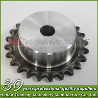 CNC machining aluminum and plastic split sprocket